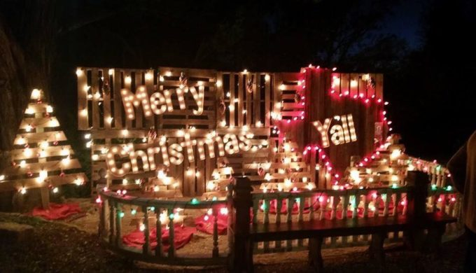 Holiday events in the Hill Country include Wimberley's Trail of Lights