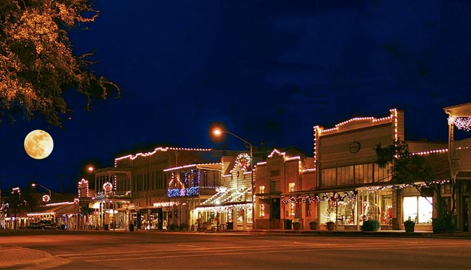Holidays in the Hill Country Fredericksburg