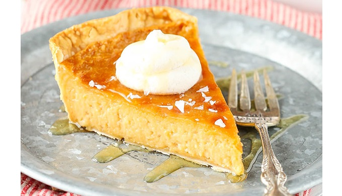 Honey Recipes Salted Honey Pie - Texas Hill Country