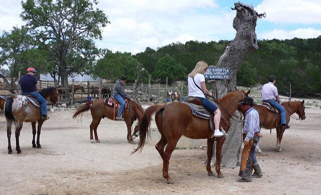 Horseback Riding in Bandera