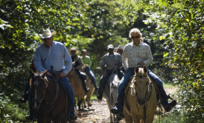 Unexpected Texas Hill Country Trail Ride Benefits for Both Hose and Rider