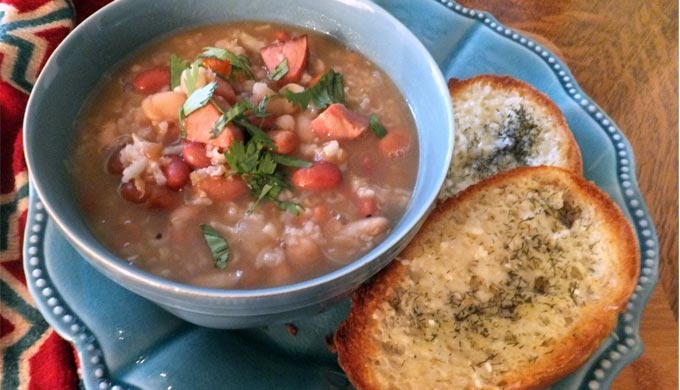 Hot & Spicy 7 Bean Soup
