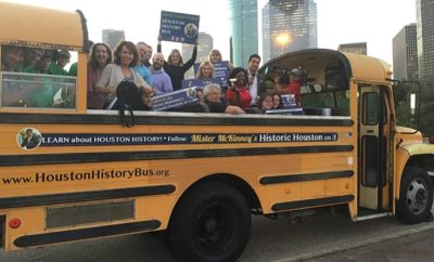 Houston History Bus