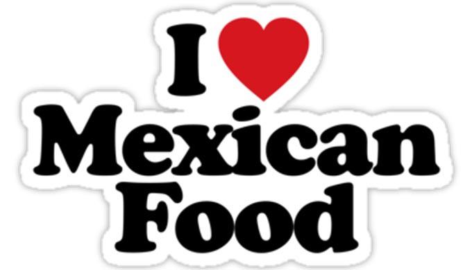 I Love Mexican Food - RedBubblecom