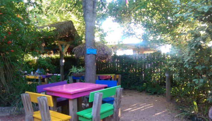 Toucan Jim's outdoor area