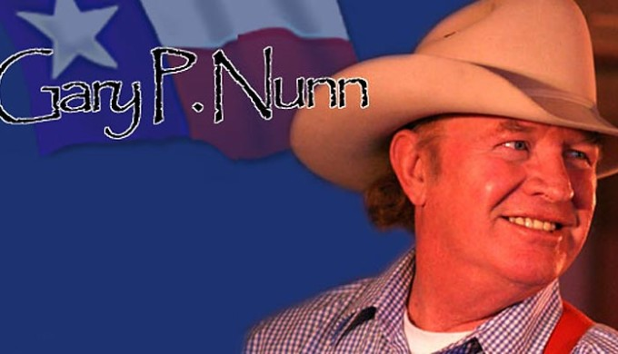 Gary P. Nunn who is set to perform at John T. FLoore's Country Store live in Texas