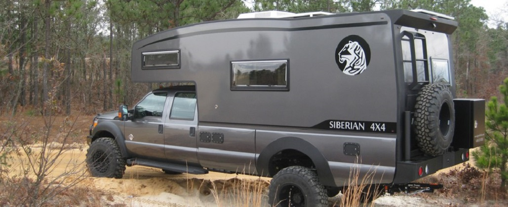 Truck Camper Named For Largest Most Powerful Cat