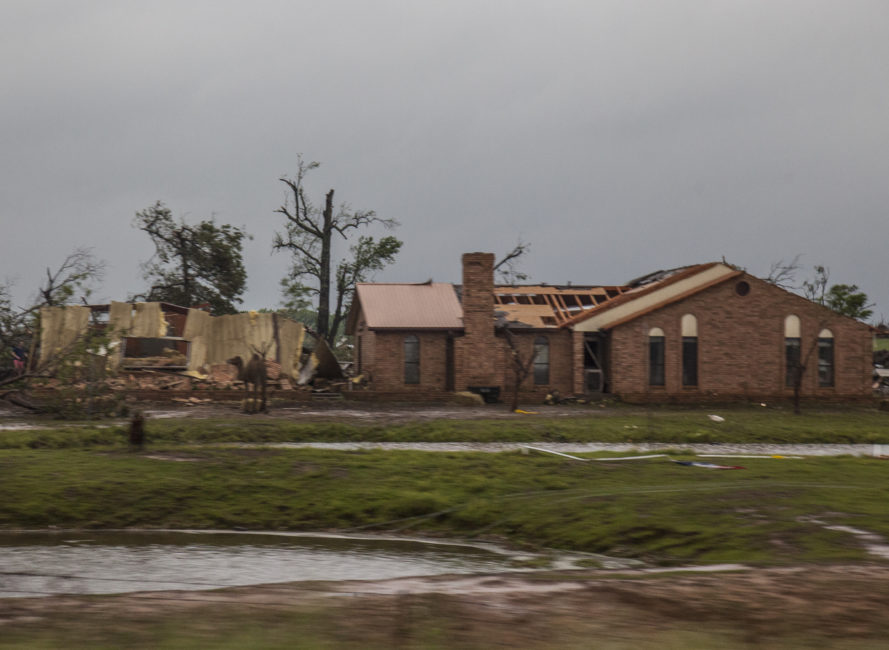 Canton, Tx tornado damage