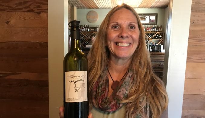 Eva at William Chris Winery