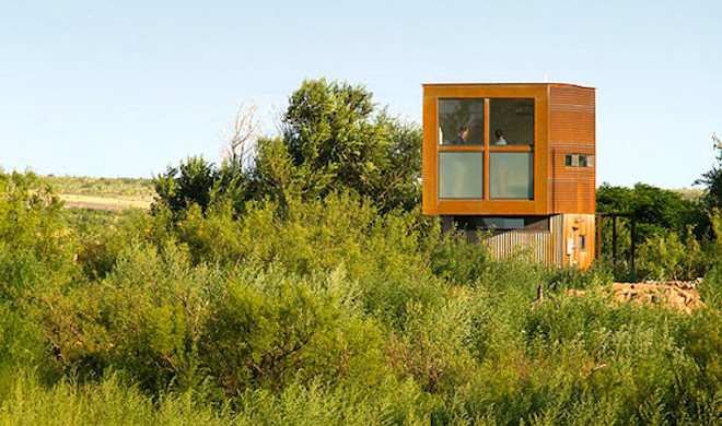 Tiny Marfa, Texas House