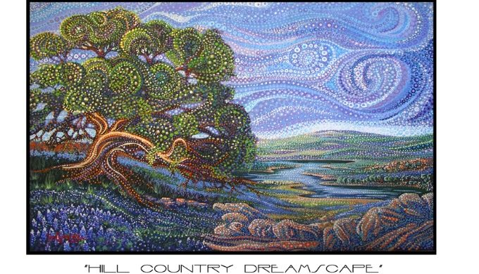 Hill Country Dreamscape by Ira Kennedy