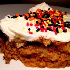 It's Not Thanksgiving Without Pumpkin…Cake!
