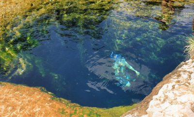 Jacob's Well and other springs like it are formed from the Hill Country's karst topography