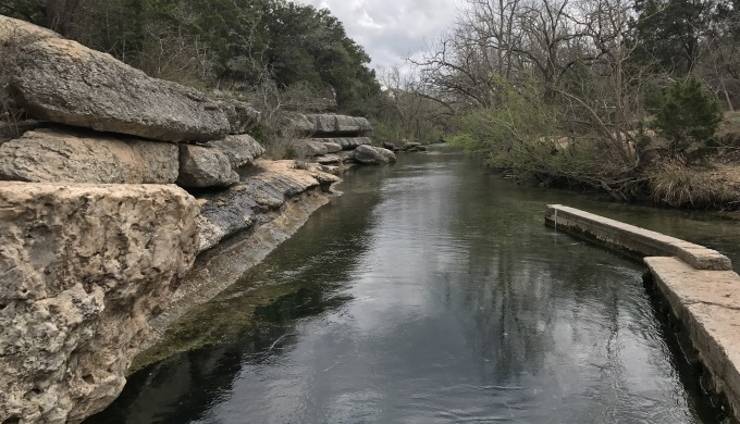 Jacobs Well Downstream View