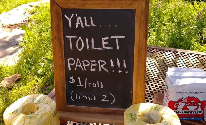 Jester King Has You Covered: Toilet Paper Giveaway & Grocery Pickup