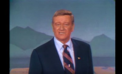 John Wayne, God Bless America