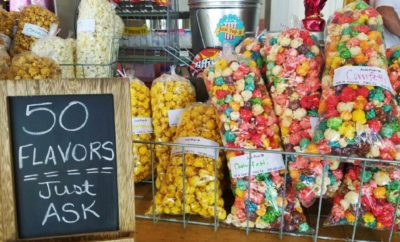 Just Pop N has 50 popcorn flavors for you to try