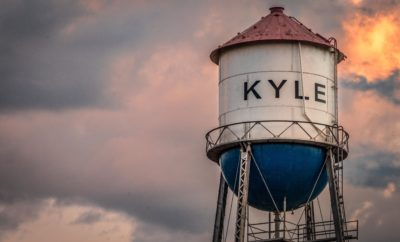 Kyle Water Tower by Travis Mitchell