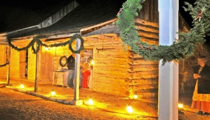 LBJ State Park is another of the Texas Hill Country parks with a holiday celebration