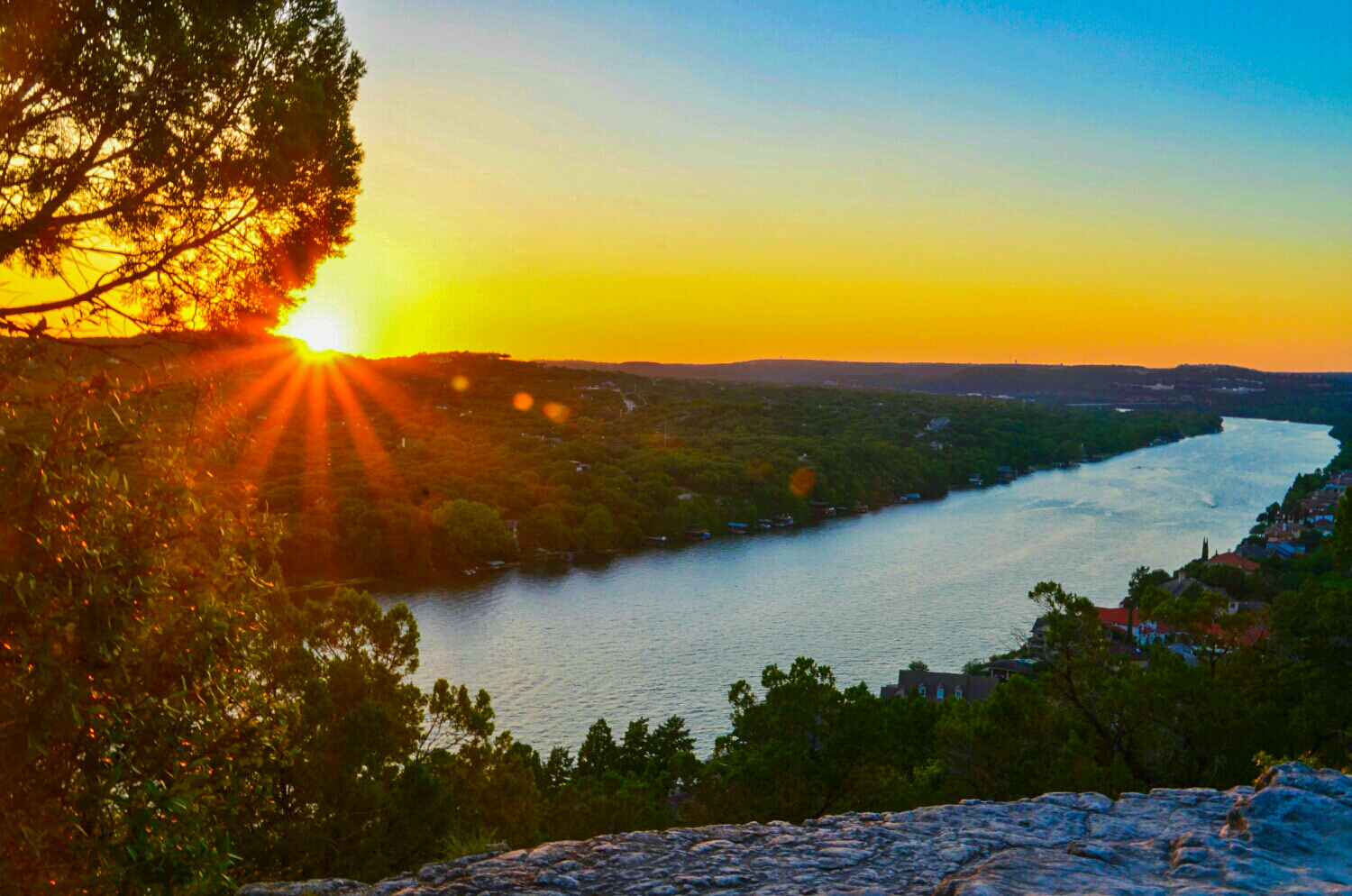Mount Bonnell Sunsets