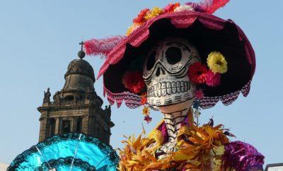 La Calavera Catrina for Dia de los Muertos