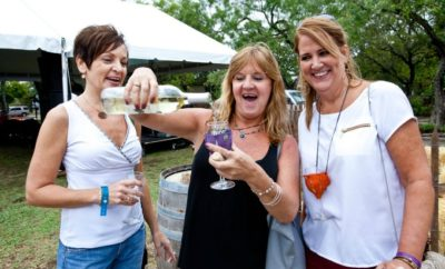 Ladies at Gruene wine fest