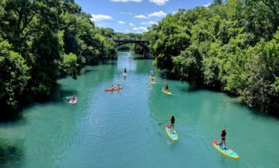 Lady Bird Lake paddle