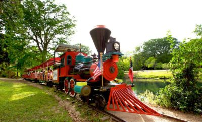 Landa Park Railroad in New Braunfels