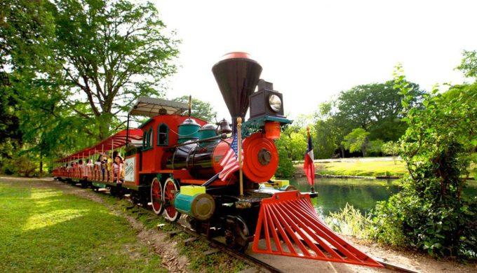 Landa Park Railroad in New Braunfels