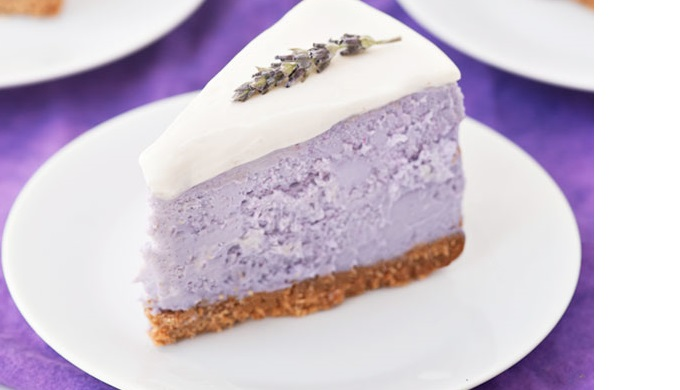 Lavender Cheesecake