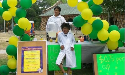Lemonade Day stand