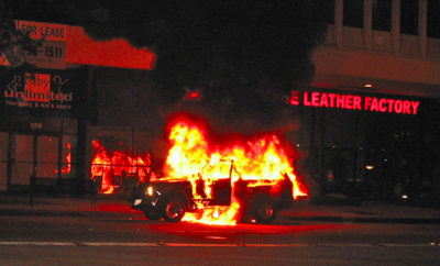 Texas Man Torches Eight Cars in NY State Following Cancellation of Wedding
