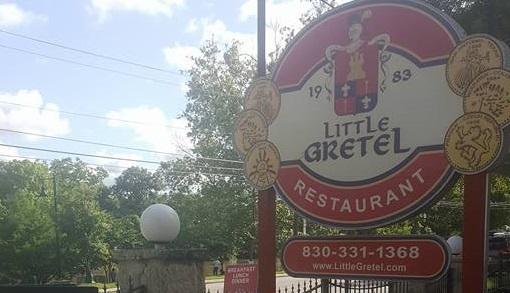 Little Gretel's Restaurant Sign