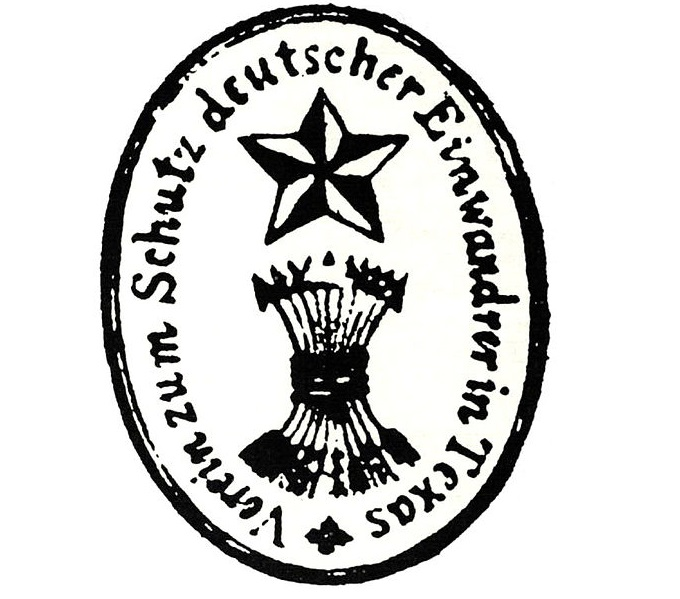 Logo of the Adelsverein which led to many Germans in the Texas Hill Country