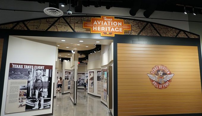 Lone Star Museum Aviation Sign