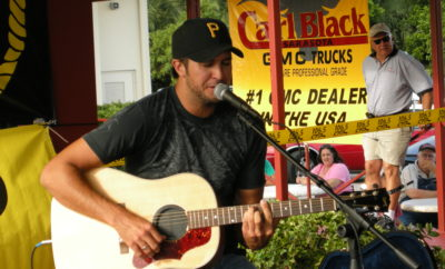 Luke Bryan Recognizes Spring Hill Fire Department for Wildfire Service