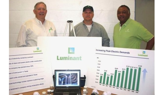 Luminant owns Monticello coal plant which will retire at the end of January 2018