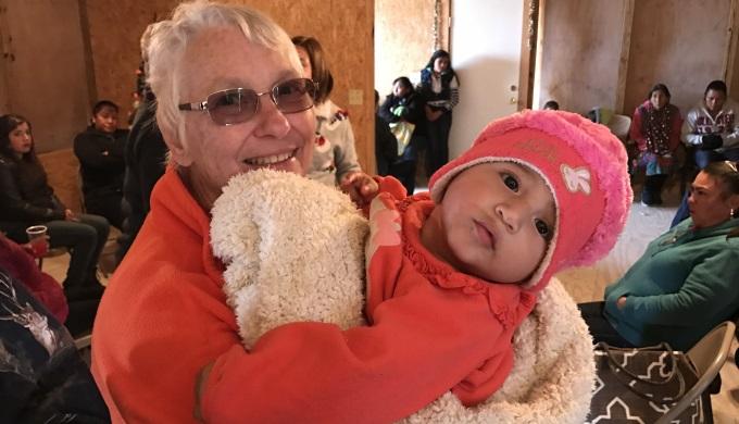 Mision de Candelilla grandma time