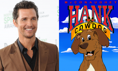 Matthew McConaughey is Hank The Cowdog in New Podcast