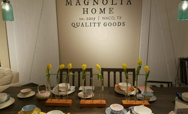 Hgtv fixer upper stars chip joanna team up with star for Fixer upper does the furniture stay