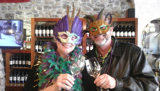Mardi Gras, Texas Hill Country Style