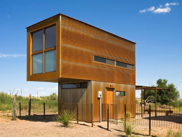 This Marfa Tiny House Is Hiding An Incredible Interior