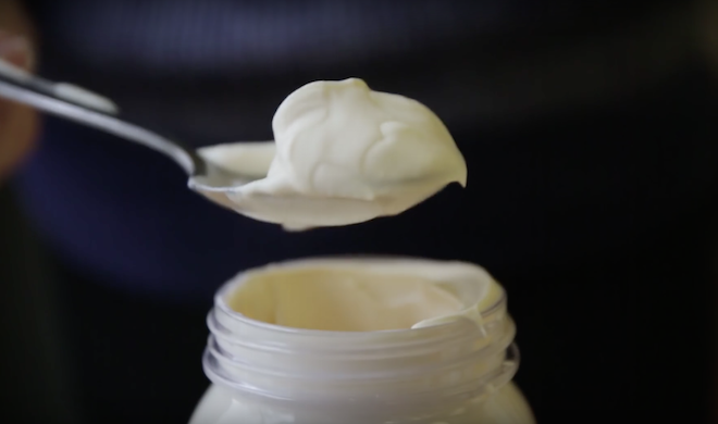 Mason jar hack whipped cream