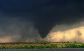 Intense Tornado Video Shows Powerful Storm Force With Inevitable and Unpredictable Path of Destruction