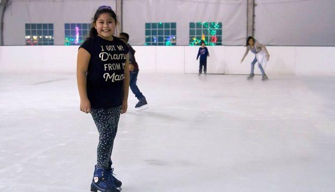 Moody Gardens Ice Skating