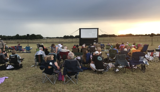 LBJ National Historical Park Movies Under the Stars
