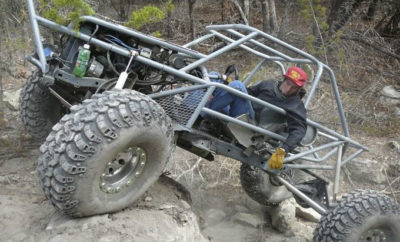 Off-roading at Hidden Falls Adventure Park