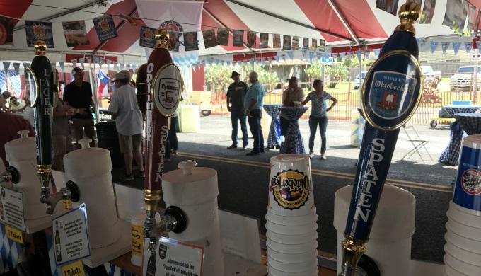 Bier, beer, and more beer.