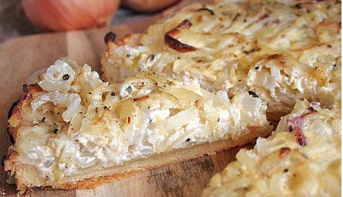 Oktoberfest Recipes Savory German Onion Tart