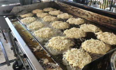 Potato Pancakes at Oktoberfest